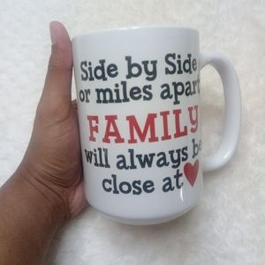 Side by Side or Miles apart FAMILY will always be
